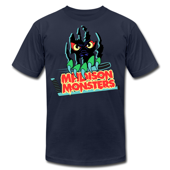 Madison Monsters T-Shirt (Premium) - navy
