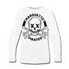 Marquette Pirates Light Long Sleeve T-Shirt (Premium) - white