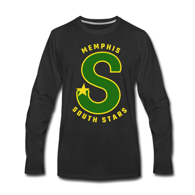 Memphis South Stars Long Sleeve T-Shirt (Premium) - black