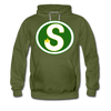 Memphis South Stars Hoodie (Premium) - olive green