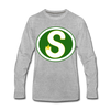 Memphis South Stars Long Sleeve T-Shirt (Premium) - heather gray