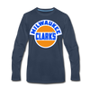 Milwaukee Clarks Long Sleeve T-Shirt (Premium) - navy