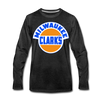 Milwaukee Clarks Long Sleeve T-Shirt (Premium) - charcoal gray