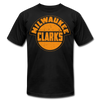 Milwaukee Clarks Distressed T-Shirt (Premium) - black