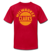 Milwaukee Clarks Distressed T-Shirt (Premium) - red