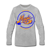 Montana Magic Long Sleeve T-Shirt (Premium) - heather gray