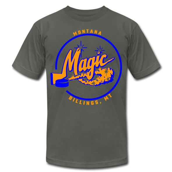 Montana Magic T-Shirt (Premium) - asphalt