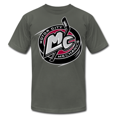 Motor City Mechanics T-Shirt (Premium) - asphalt