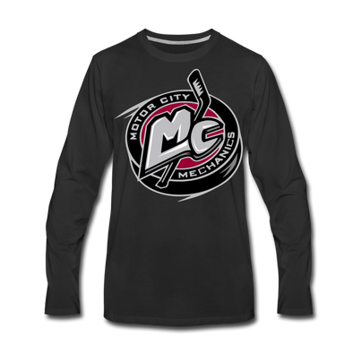 Motor City Mechanics Long Sleeve T-Shirt (Premium) - black