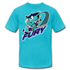 Muskegon Fury T-Shirt (Premium) - turquoise