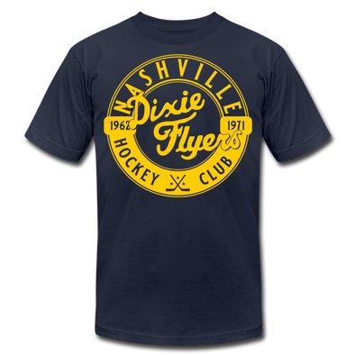 Nashville Dixie Flyers Circular Dated T-Shirt (Premium) - navy