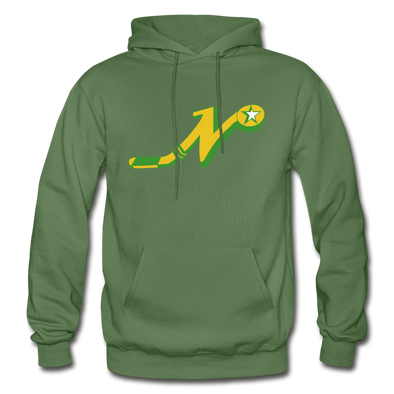 Nashville South Stars 'N' Hoodie - military green