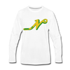 Nashville South Stars 'N' Long Sleeve T-Shirt (Premium) - white