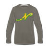 Nashville South Stars 'N' Long Sleeve T-Shirt (Premium) - asphalt gray