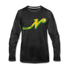 Nashville South Stars 'N' Long Sleeve T-Shirt (Premium) - charcoal gray