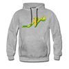 Nashville South Stars 'N' Hoodie (Premium) - heather gray