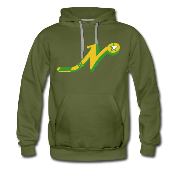 Nashville South Stars 'N' Hoodie (Premium) - olive green