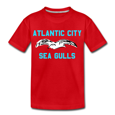 Atlantic City Sea Gulls Kids' T-Shirt - red