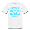 Atlantic City Sea Gulls Dated Kids' T-Shirt - white