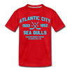 Atlantic City Sea Gulls Dated Kids' T-Shirt - red
