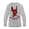 Jersey EHL Long Sleeve T-Shirt (Premium) - heather gray