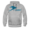 Jersey Larks Hoodie (Premium) - heather gray