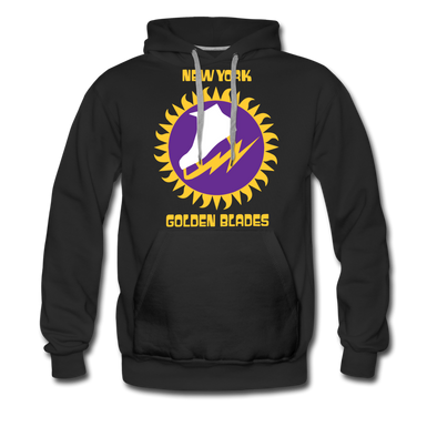 New York Golden Blades Hoodie (Premium) - black