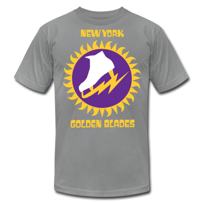 New York Golden Blades T-Shirt (Premium) - slate