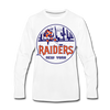 New York Raiders Long Sleeve T-Shirt (Premium) - white