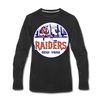 New York Raiders Long Sleeve T-Shirt (Premium) - black