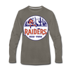 New York Raiders Long Sleeve T-Shirt (Premium) - asphalt gray