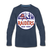 New York Raiders Long Sleeve T-Shirt (Premium) - navy