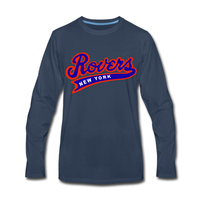 New York Rovers Long Sleeve T-Shirt (Premium) - navy