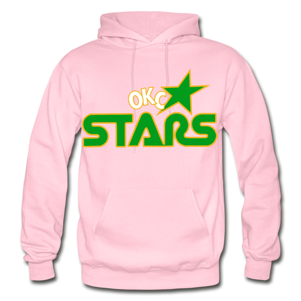 Oklahoma City Stars Hoodie - light pink