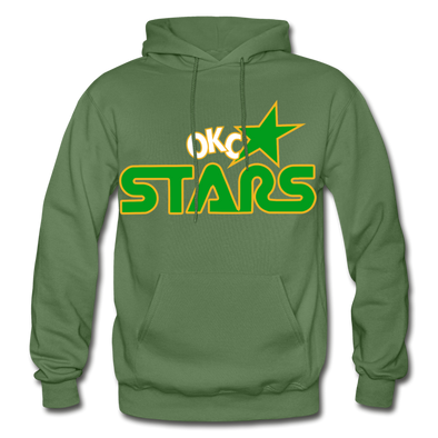 Oklahoma City Stars Hoodie - military green