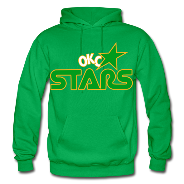 Oklahoma City Stars Hoodie - kelly green