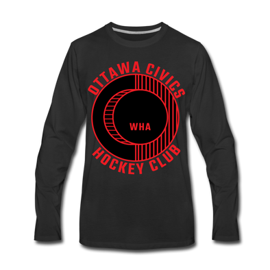 Ottawa Civics Long Sleeve T-Shirt (premium) - black