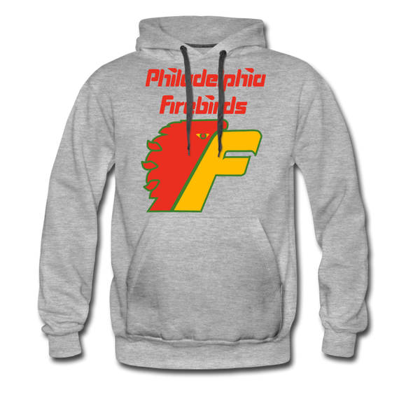 Philadelphia Firebirds Hoodie (Premium) - heather gray