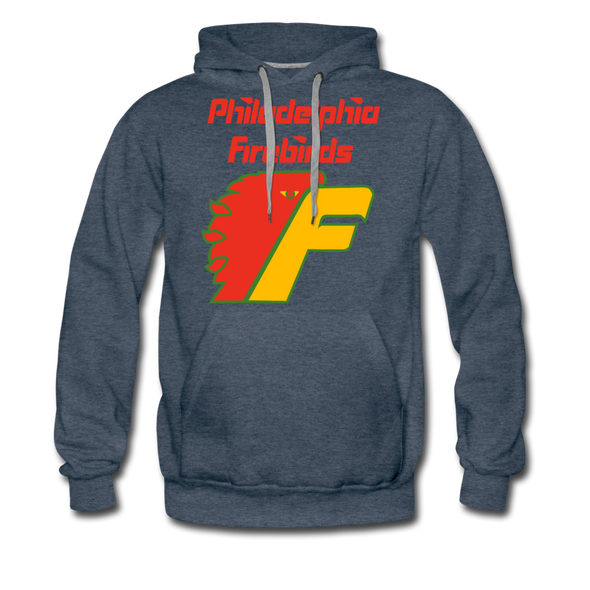 Philadelphia Firebirds Hoodie (Premium) - heather denim