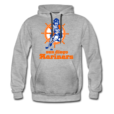 San Diego Mariners Hoodie (Premium) - heather gray