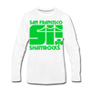 San Francisco Shamrocks Long Sleeve T-Shirt (Premium) - white