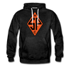 Sands Point Tigers Hoodie (Premium) - charcoal gray
