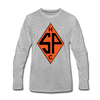Sands Point Tigers Long Sleeve T-Shirt (Premium) - heather gray