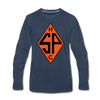 Sands Point Tigers Long Sleeve T-Shirt (Premium) - navy