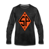 Sands Point Tigers Long Sleeve T-Shirt (Premium) - charcoal gray
