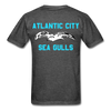 Atlantic City Sea Gulls Double Sided Adult T-Shirt - heather black