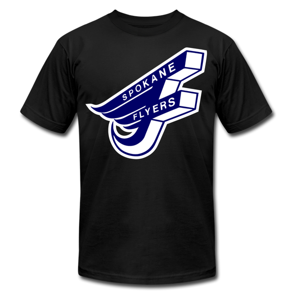 Spokane Flyers F T-Shirt (Premium) - black