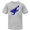 Spokane Flyers F T-Shirt (Premium) - heather gray