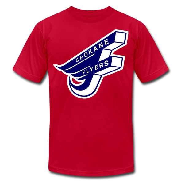 Spokane Flyers F T-Shirt (Premium) - red