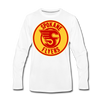 Spokane Flyers Red Design Long Sleeve T-Shirt (Premium) - white